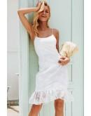 Cynthia Bodycon Dress in White