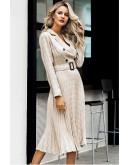Haylee Blazer Dress in Plaid