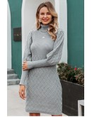 Patricia Jumper Dress in Grey