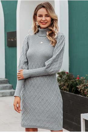 Patricia Jumper Dress in Grey