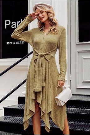 Faith High-Low Knit Dress