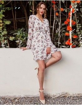 Alice Floral Printed Dress