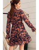 Bernice Floral Ruffles Dress