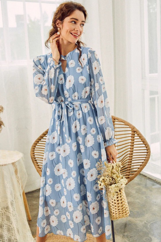 Alena Delicate Floral Dress