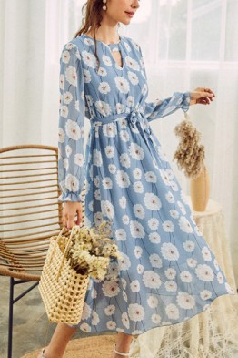 Alena Delicate Floral Dress