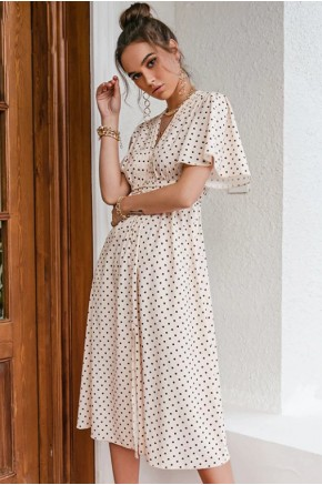 Lisbeth Polka Dot Dress