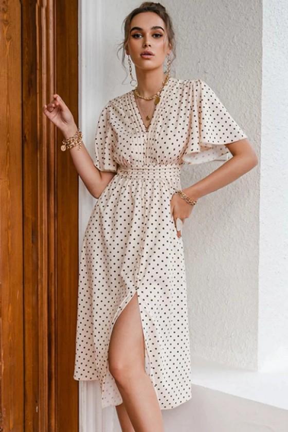 Lisbeth Polka Dot Dress