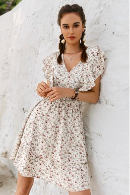 Ainsley Floral Boho Dress