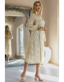 Idelle Midaxi Floral Print Dress