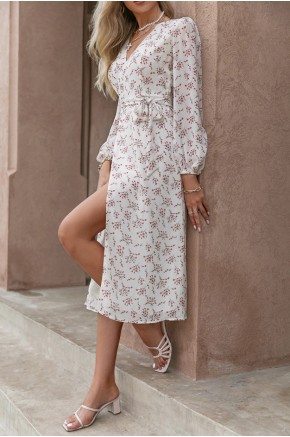 Idelle Midaxi Pink Florals Dress