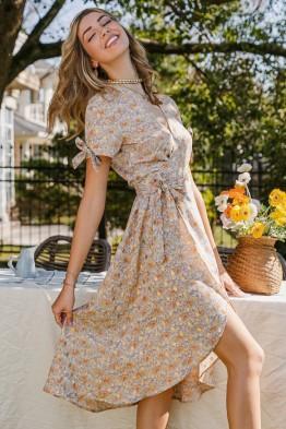 Jennifer Floral Midaxi Dress