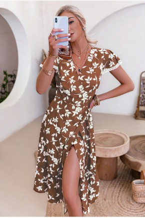 Verena Printed Midi Dress
