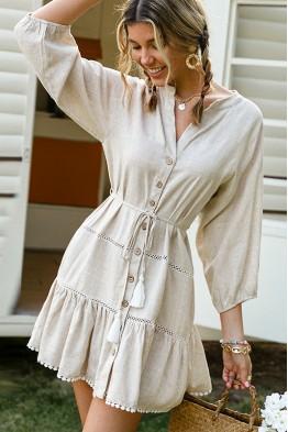 Juliette Cotton Skater Dress