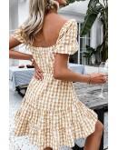 Penny Ruffled Mini Dress