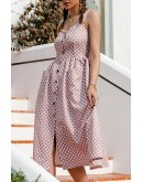 Destiny Polka Dot Sundress