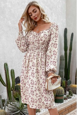 Bonnie Floral Midi Dress