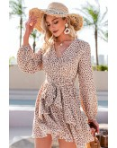 Madison Ruffled Floral Dress