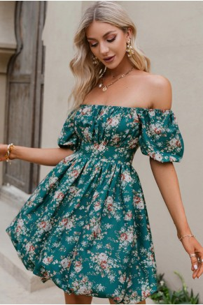 Melissa Off the Shoulder Floral Dress
