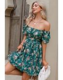 Melissa Off the Shoulder Floral Dress