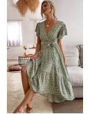 Quintina Floral Midaxi Dress