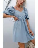 Alexis Babydoll Smock Dress
