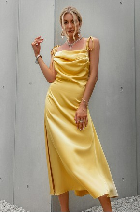 Scotlyn Cowl Neck Cocktail Dress