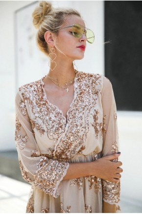 Scarlett Sequin Party Dress