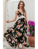 California Floral Maxi Dress
