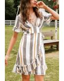 Casey Retro Striped Dress