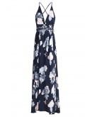 Honfleur Backless Maxi Dress