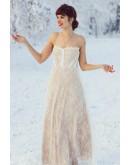 Lollie Lace Floor Length Dress