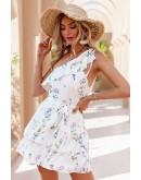 Alisha One Shoulder Summer Dress