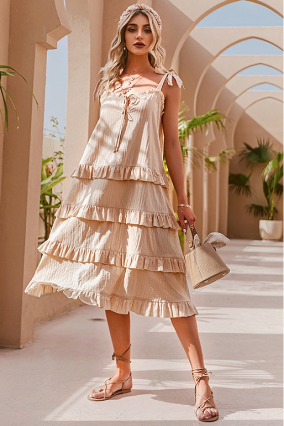 Nadine Ruffled Sundress