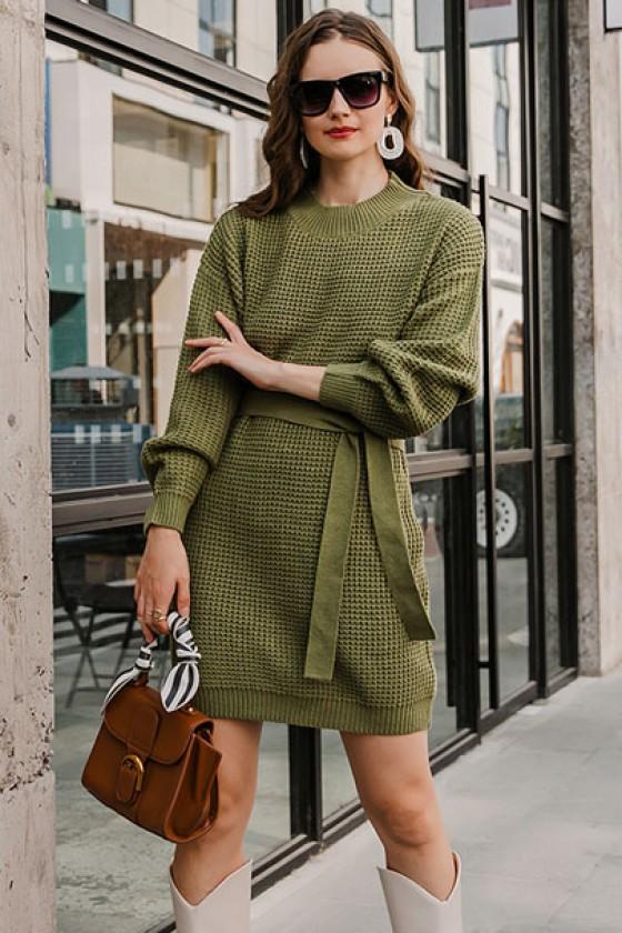 Kylie Knitted Jumper Dress