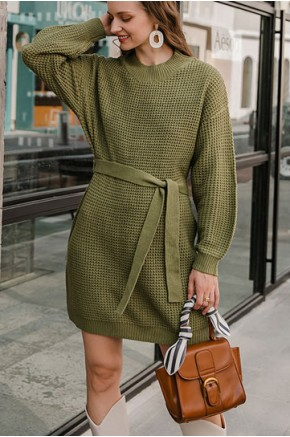 Kylie Knitted Jumper Dress