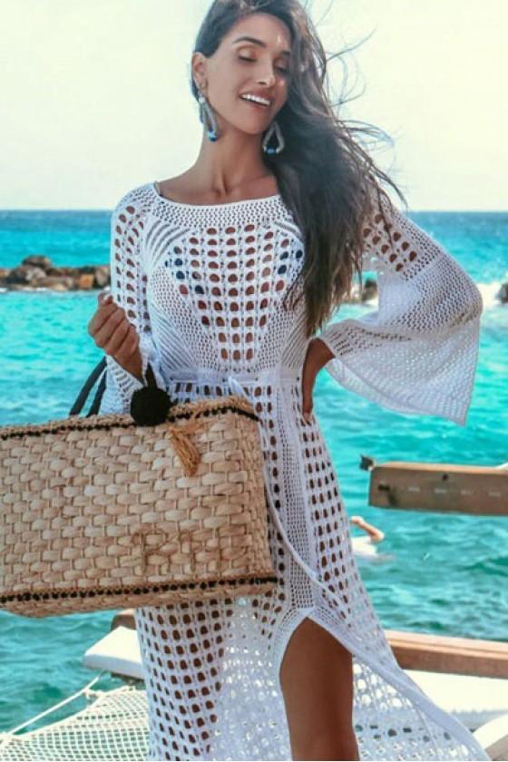 Eloisa Crochet Maxi Dress