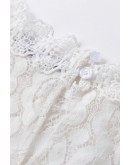 Reina Lace Blouse in White