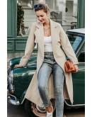 Niamh Wool-Blend Coat