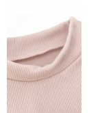 Eden Ruffle-Sleeve Top in Pink