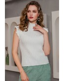 Abri Butterfly Sleeve Knit Top