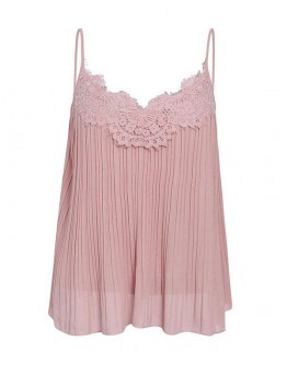 Abigail Chic Lace Strappy Top