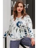 Karlee Tie Dye Print Sweatshirt