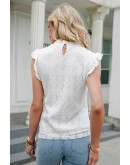 Isis Embroidered White Top