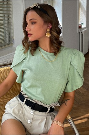 Sophia Pale Green T-shirt