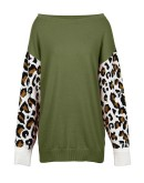 Eze Boat-Neck Pullover in Green