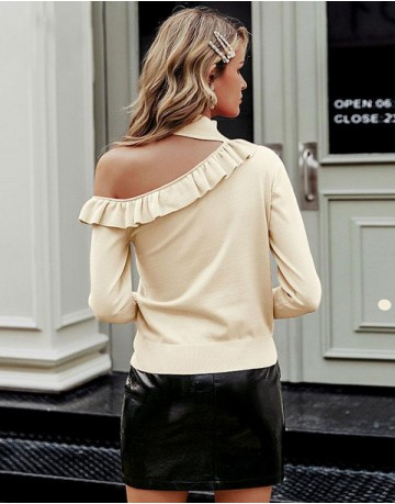 Yente Cold-Shoulder Jumper
