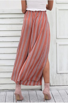 Emi Wide Leg Wrap Pants
