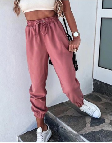 Muse Comfort Pants in Dusty Rose