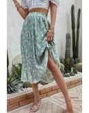 Efia Floral Pleated Skirt
