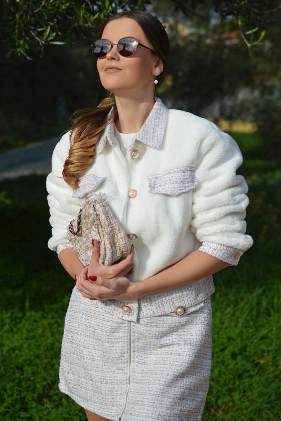 Heidi Co-ord Jacket with Skirt